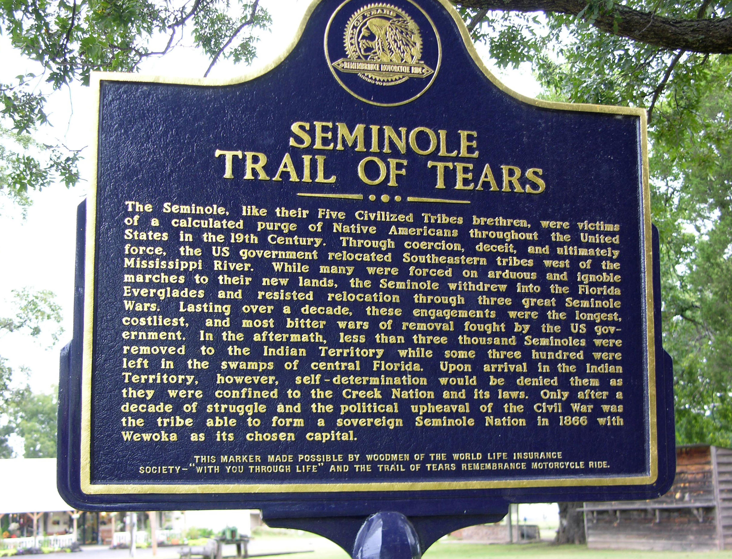 Seminole Nation, Indian Territory History & Genealogy